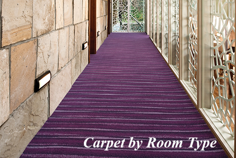 Carpet by Room